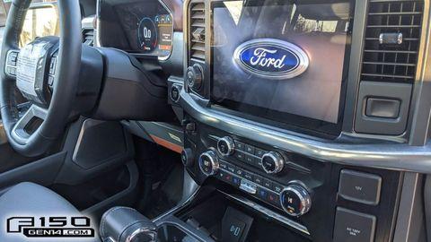 2021 ford f 150 screen