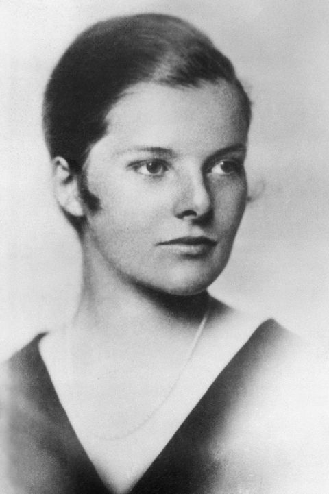 katharine hepburn at age fourteen