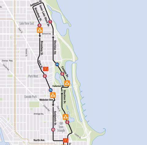 How to Run the Chicago Marathon | Runner's World Chicago Marathon Map on