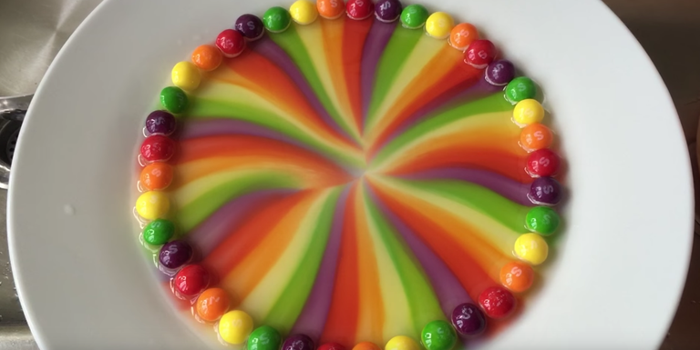 YouTube Tasting The Skittles Rainbow