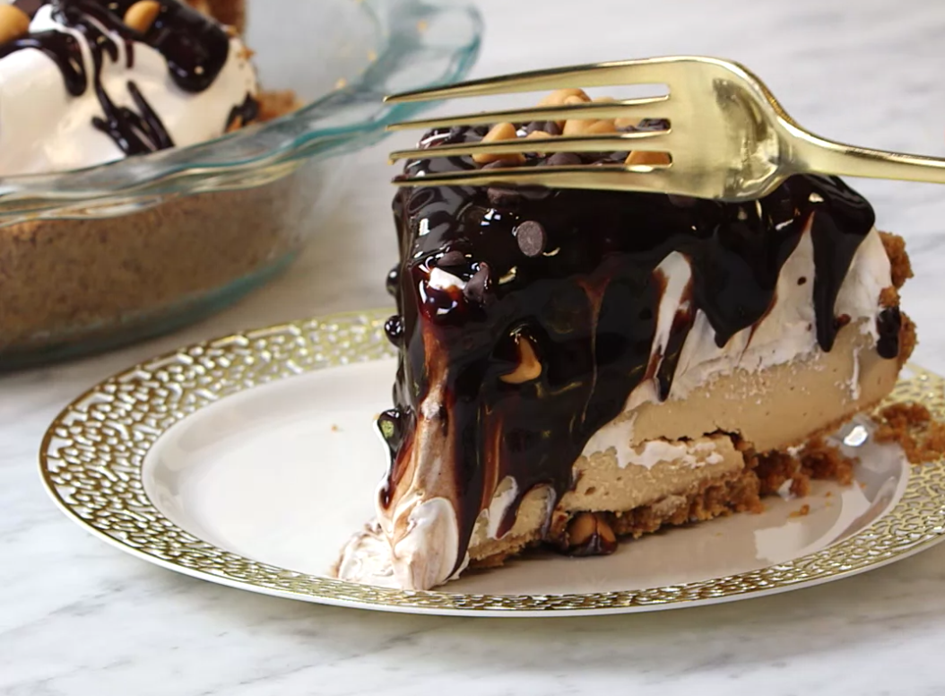No-Bake Peanut Butter Pie Is Perfect For Anyone Who Thinks They Can't Make Pie