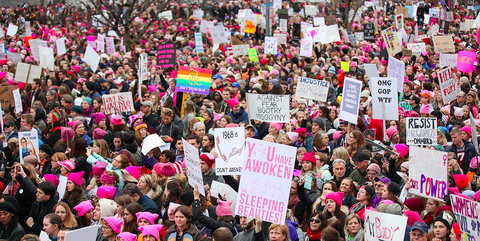 d34931930 Women's March on Washington - How It Felt to Walk in the Protest ...