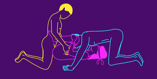 Sex positions for 3
