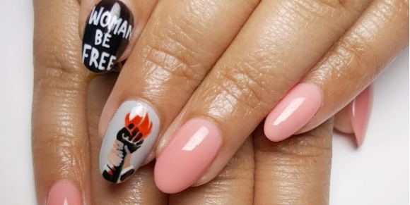 This Woke Nail Art Inspired by Social Change Is So Beautiful