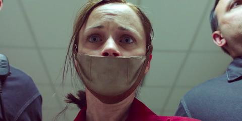 Face, Hair, Duct tape, Nose, Head, Facial hair, Chin, Cheek, Skin, Mouth,