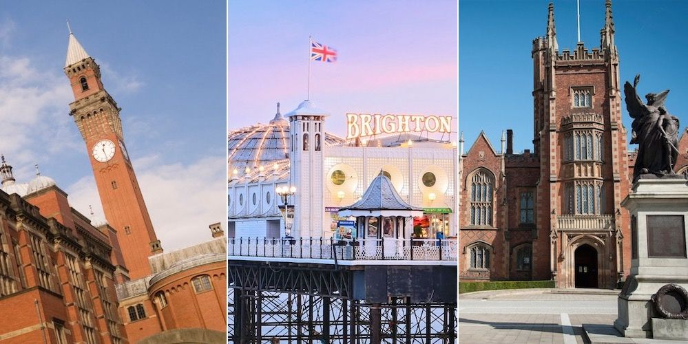 The 9 happiest cities in the UK for students