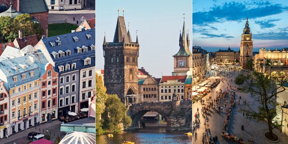 The 10 cheapest European destinations for a city break