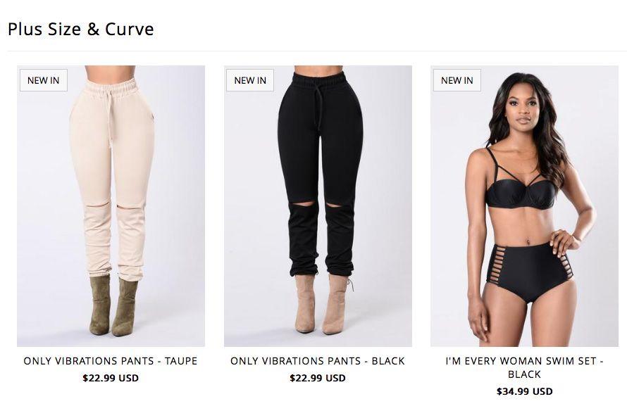Viral Fast Fashion Brand Fashion Nova Plus Size Model Controversy