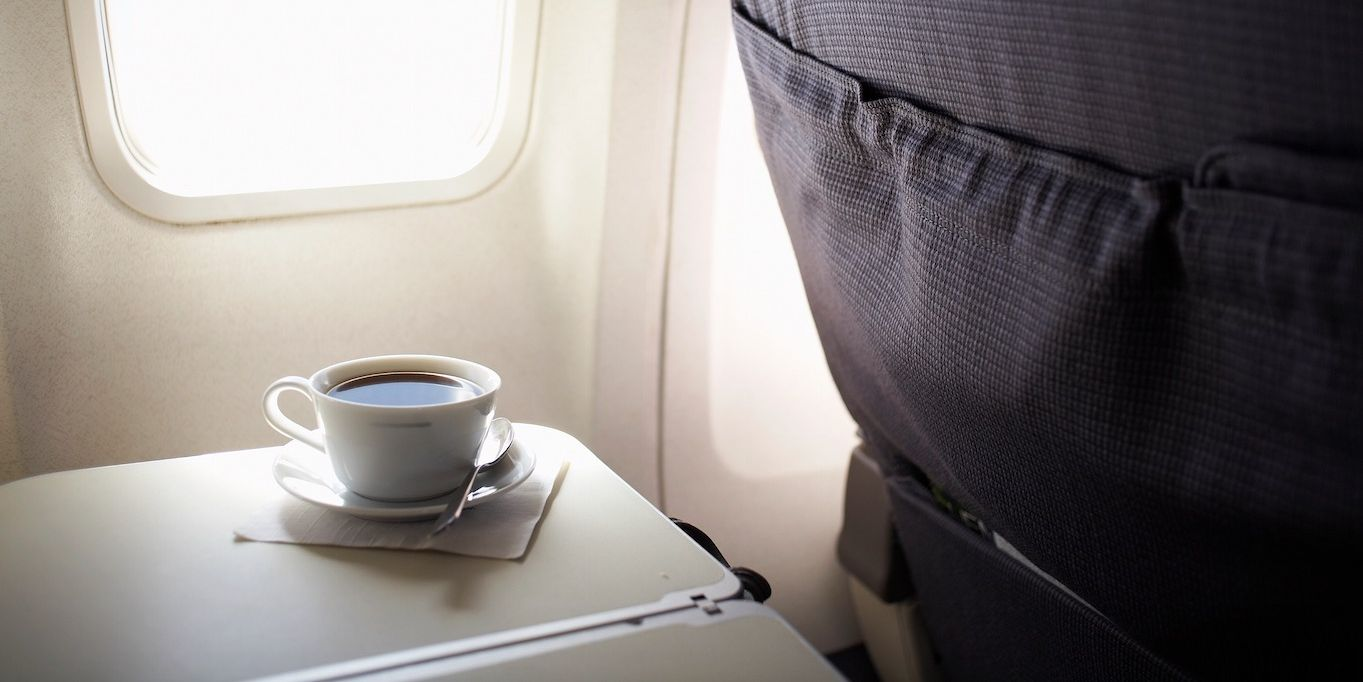 This is why coffee tastes so weird on aeroplanes
