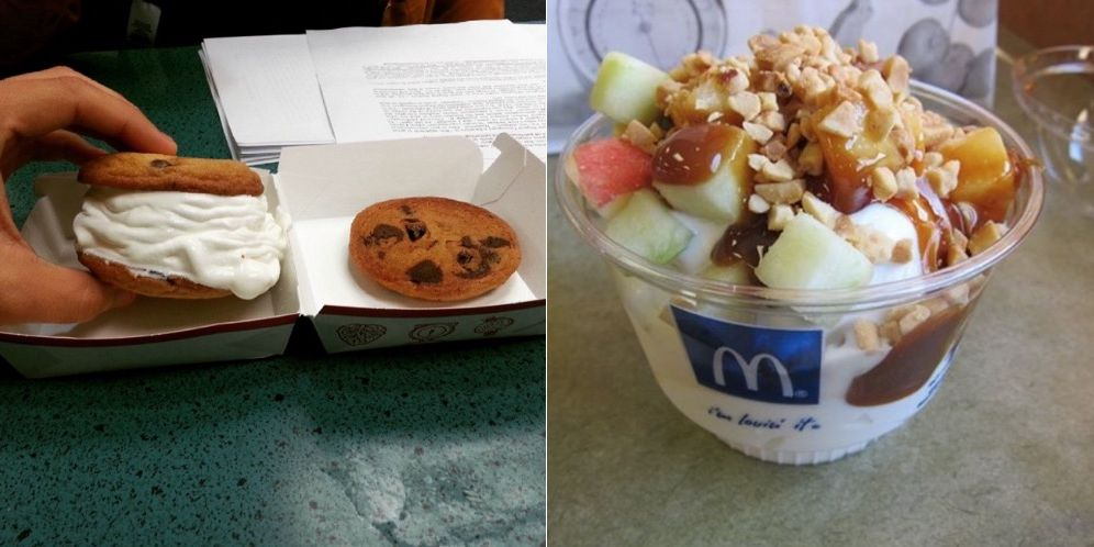 McDonald's secret dessert menu