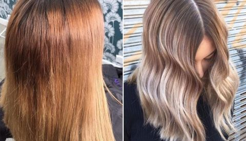 How to fix hair dye gone wrong: Colour correction