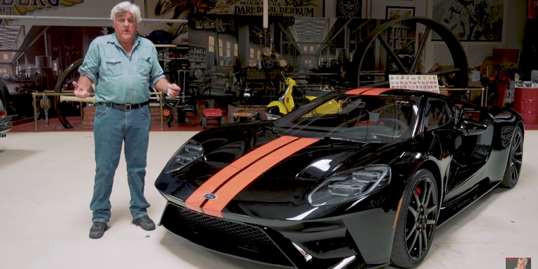 This Is Jay Leno S New Ford Gt