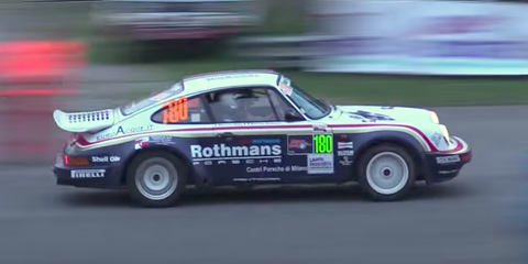 Porsche 911 Rally Car Video 911 Sc Rs Rally Car