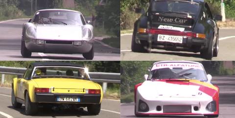 Classic Racing Porsches