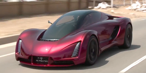 This 700 Horsepower 3d Printed Supercar Is The Future Of