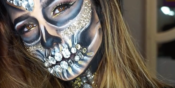 easy vire makeup tutorial for halloween how to do