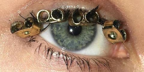 Eyebrow, Eye, Face, Hair, Eyelash, Skin, Iris, Green, Close-up, Organ,