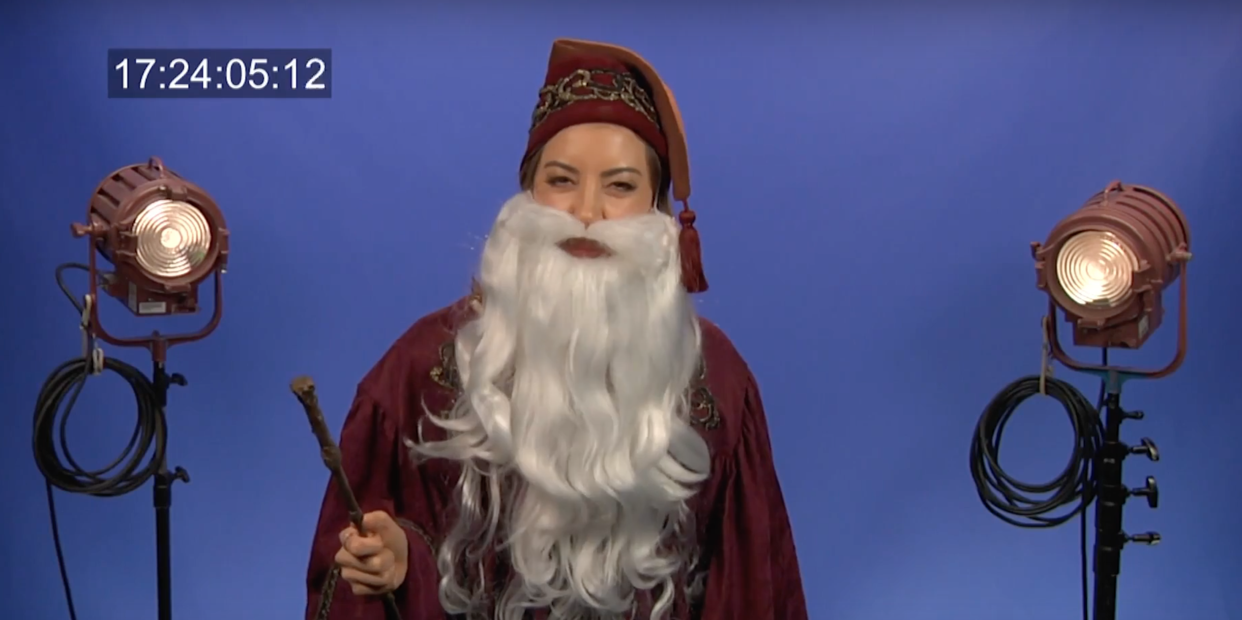 Aubrey Plaza, Nick Offerman, and Patton Oswalt Want to Get Cast as Teen Dumbledore