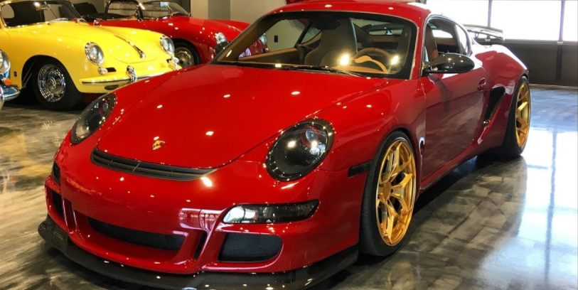 This 400-HP Widebody Cayman Is the Ultimate 911 Porsche Won't Build