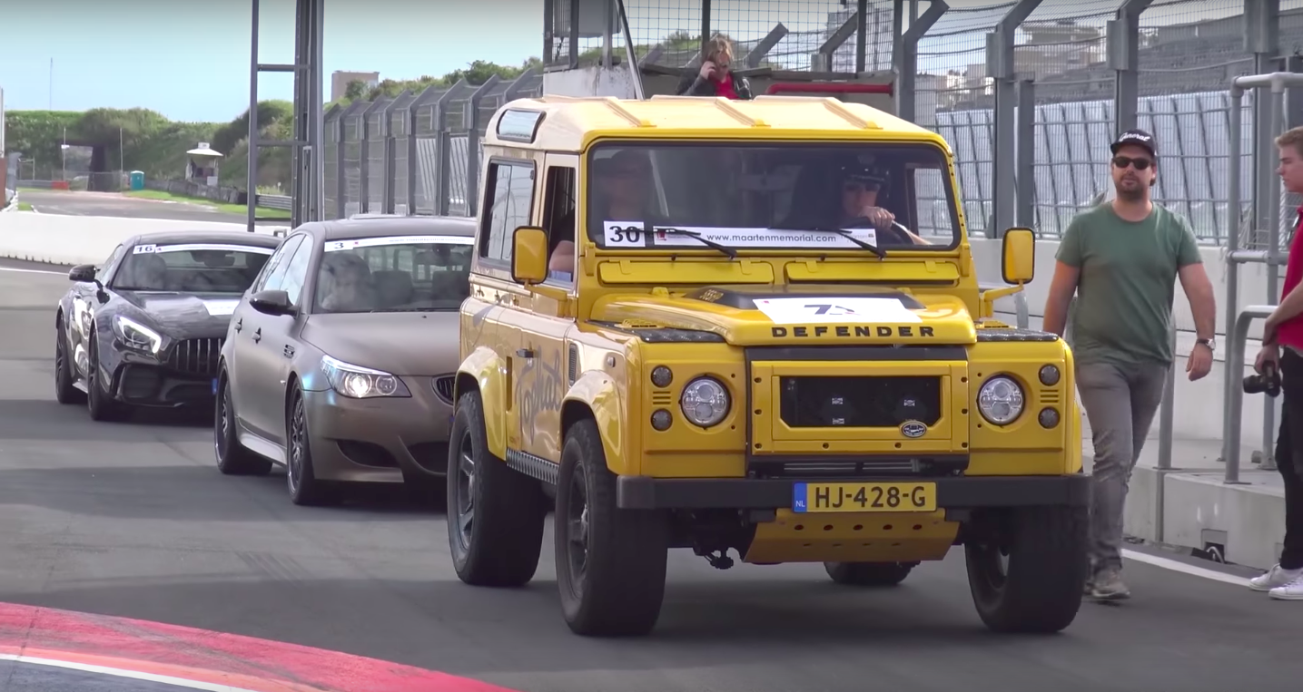 this track ready v8 swapped land rover defender will rewire your brain