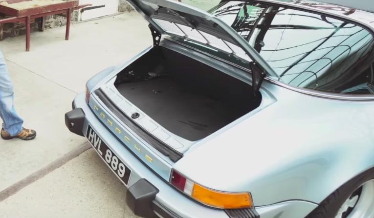 This Porsche 911 Targa Has A Tesla Roadster Battery Pack