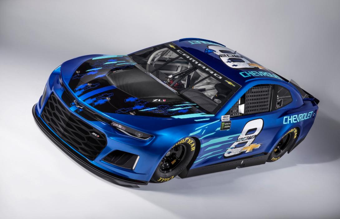 2018 Chevy NASCAR Camaro Pictures - Chevy Camaro NASCAR First Look