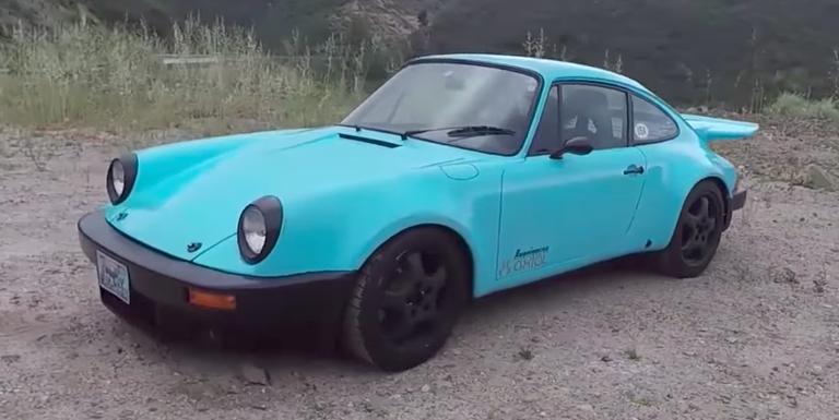 This '70s Porsche 911 Race Car Is Now a Dedicated Canyon-Carving Rat