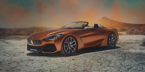2018 Bmw Z4 Photos Bmw Z4 Roadster Concept First Look