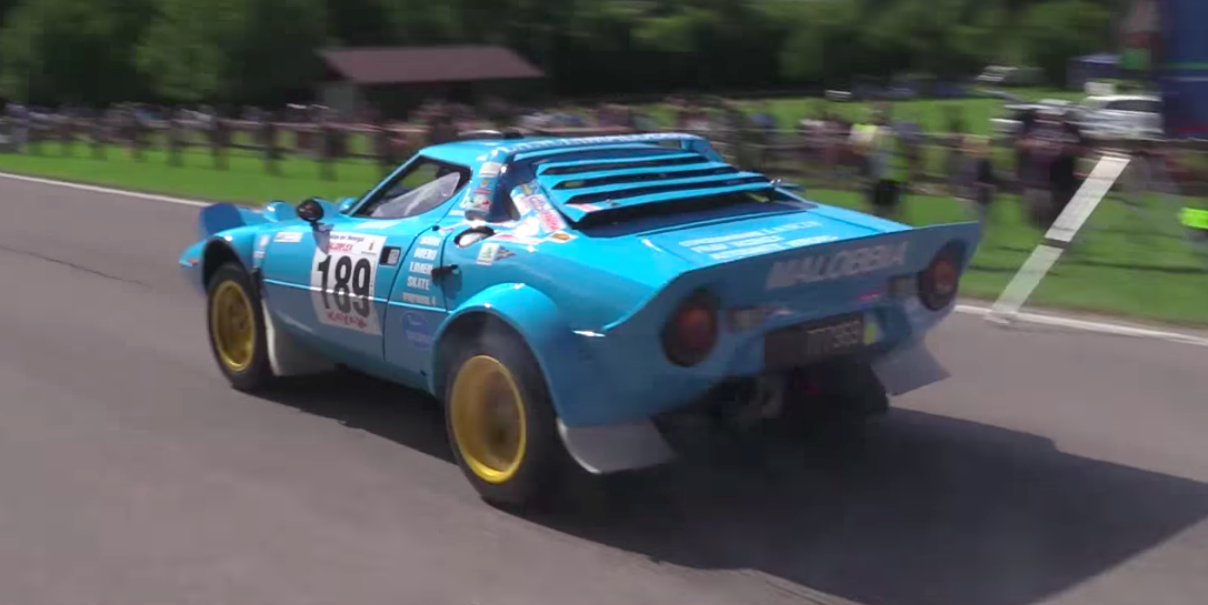 Lancia Stratos Hillclimb Video - Lancia Stratos Rally Car