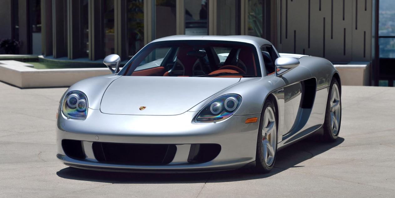 This Monterey-Bound Porsche Carrera GT Is Virtually Brand New