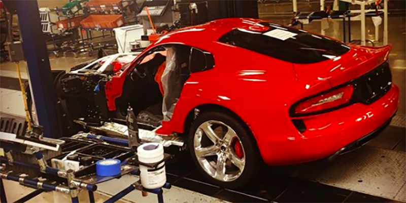 Last Dodge Viper Viper Ends Production At Conner Ave