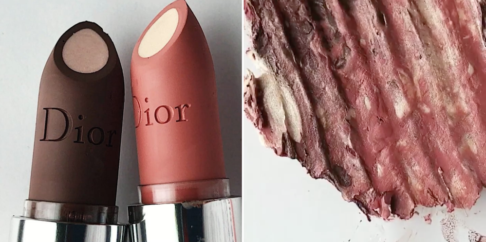 Makeup-Lovers Will Actually Cry Watching These Expensive Lipsticks Get Crushed