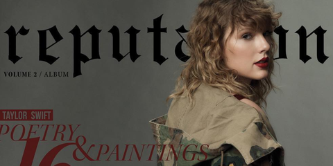 taylor swift reputation book cover