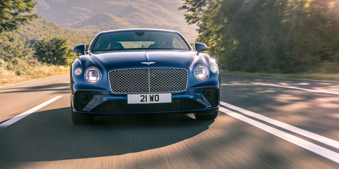 2018 Bentley Continental Gt Pictures New Bentley Continental First
