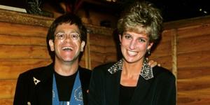 Elton John Diana