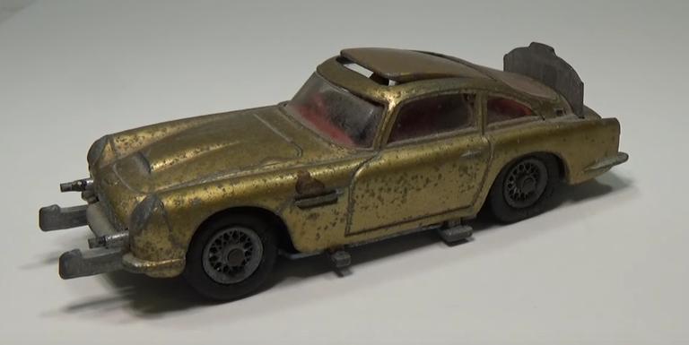 Watch the Mesmerizing Restoration of this Classic James Bond Aston ...