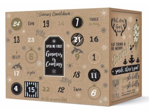 this gin advent calendar will make winter so much more. Black Bedroom Furniture Sets. Home Design Ideas