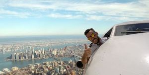 Instagrammers are calling out this pilot for his fake plane photos