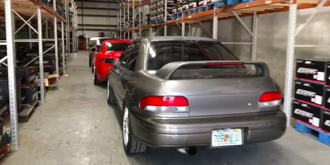 Hurricane Irma car Storage