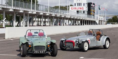 Land vehicle, Vehicle, Car, Caterham 7, Vintage car, Classic, Antique car, Classic car, Lotus seven, Automotive design,