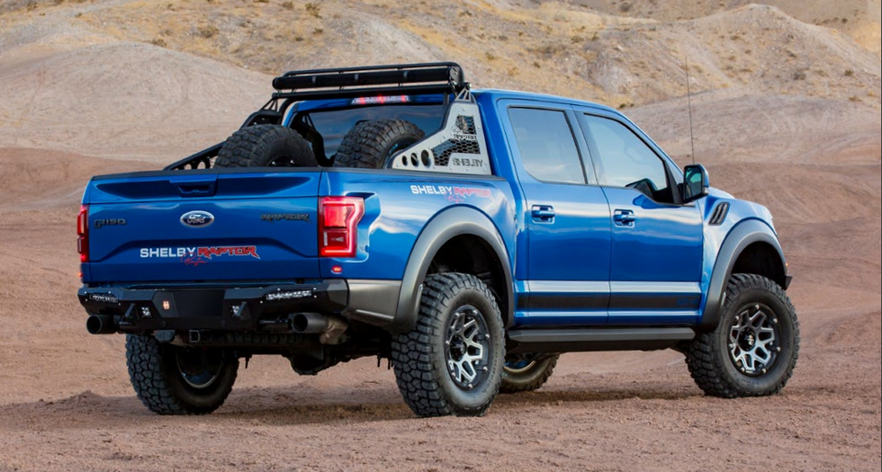 Ford Shelby Raptor >> The Shelby Baja Raptor Is 525 Hp Of Hardcore Off Road Madness