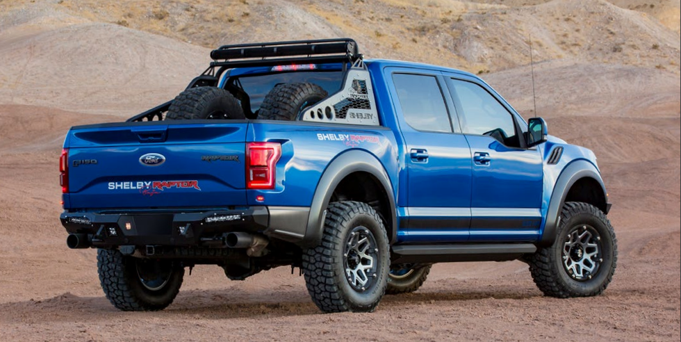 The Shelby Baja Raptor is 525 HP of Hardcore Off-Road Madness