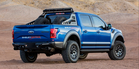 Ford Raptor Shelby 2017 >> The Shelby Baja Raptor Is 525 Hp Of Hardcore Off Road Madness