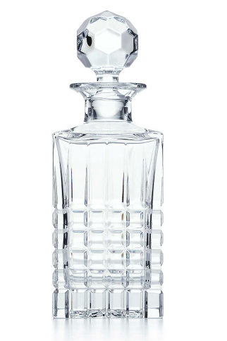 crystal decanter tiffanys