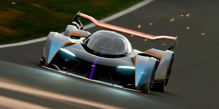 Mclaren Ultimate Vision Gran Turismo Concept Pictures