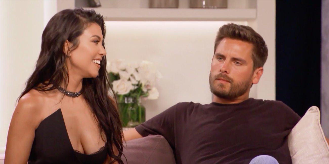 "Kourtney and Scott Were Pure Fire on the ""KUWTK"" Anniversary Special"