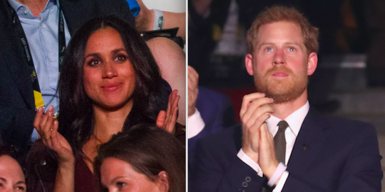 Prince Harry and Meghan Markle Have Officially Been Spotted in the Same Room