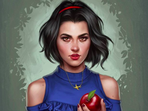 These Modern Disney Princesses Capture The Look Of 2017 Perfectly