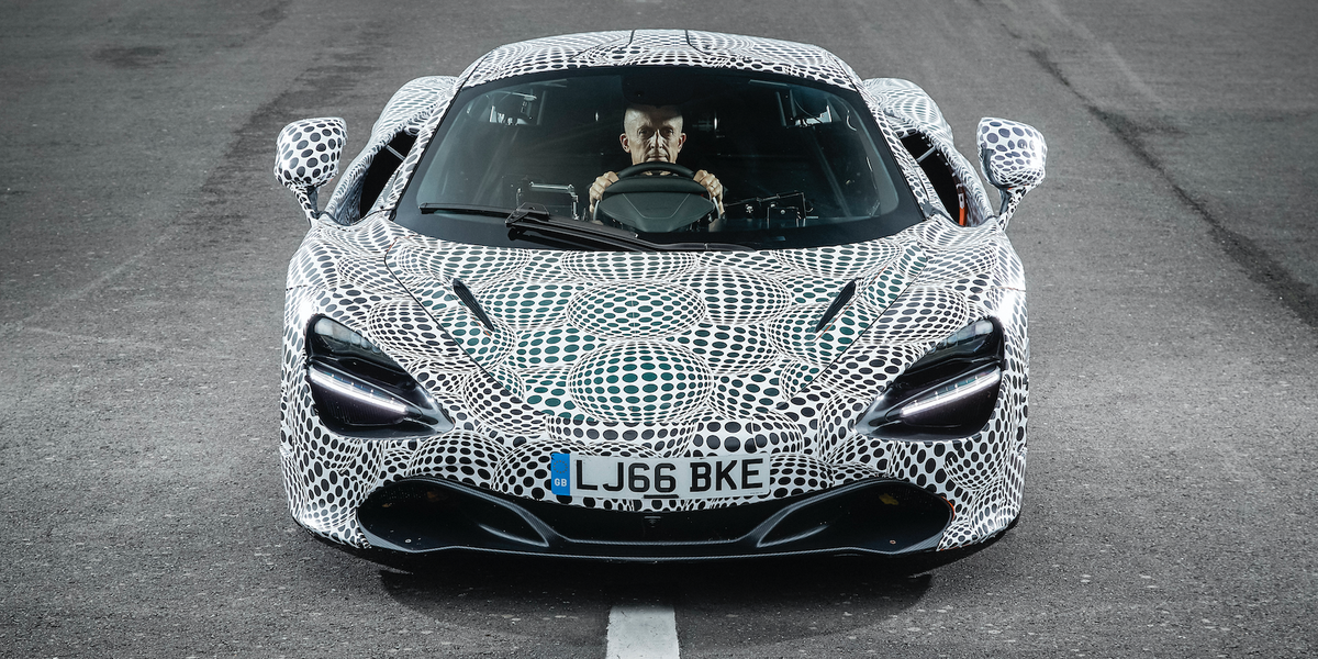Future Cars 2020 >> This Is a McLaren 720S With a Center Driver's Seat