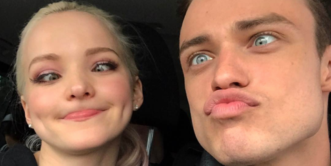 A Definitive Timeline Of Dove Cameron And Thomas Doherty S Cute Af